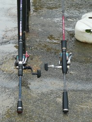 2 LRF Reels & Rod Butts