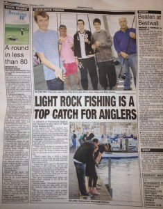 LRF in Dorset Echo