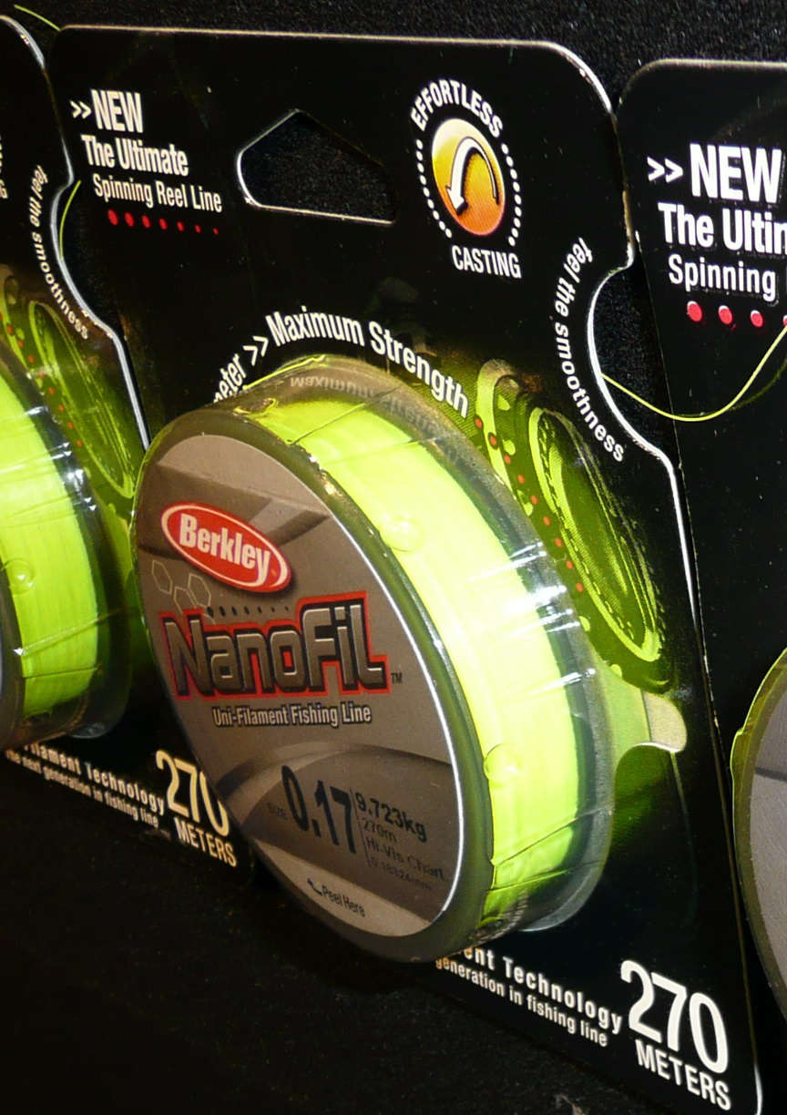 Berkley Nanofil in New Colours