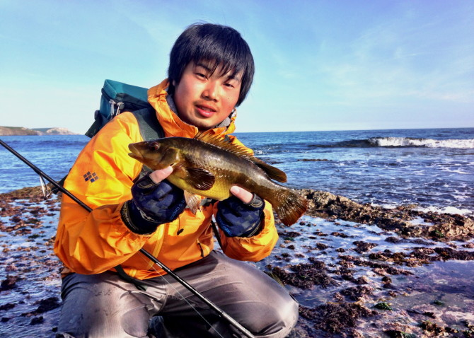 Rockfishing with Masa