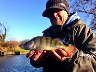George Cunningham with Perch
