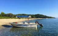 Skiathos Self Drive Hire Boat