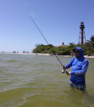 Fishing Sanibel Lighthouse