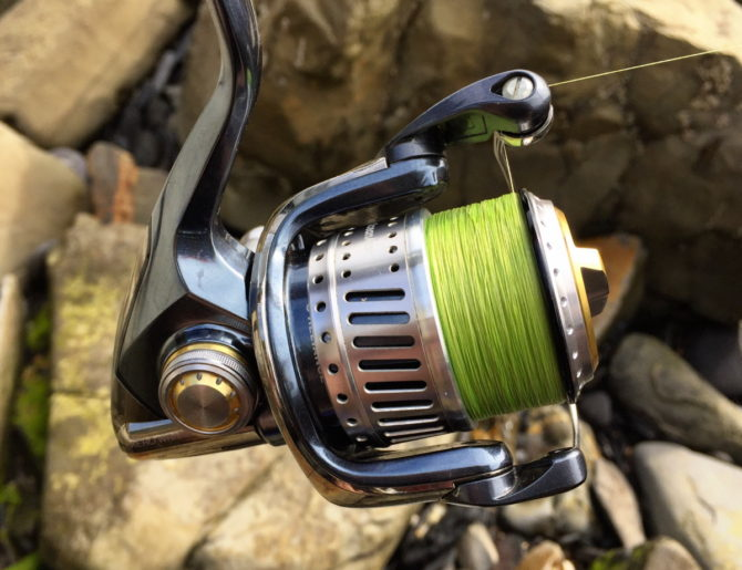Shimano Stella 2500FE with Studio Ocean Mark spool