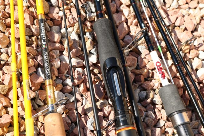 LRF Travel Rods