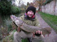 Cracking Pike on Ultra Light Gear