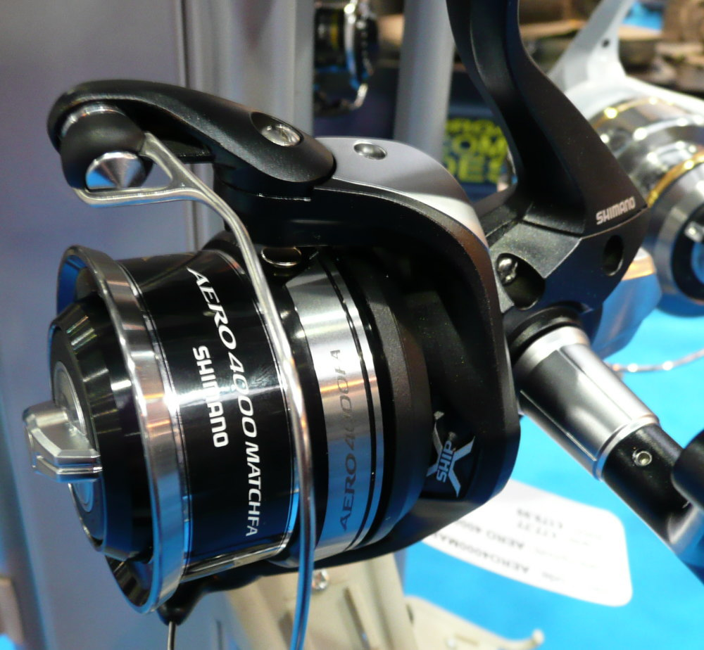 Shallow Spools from Shimano