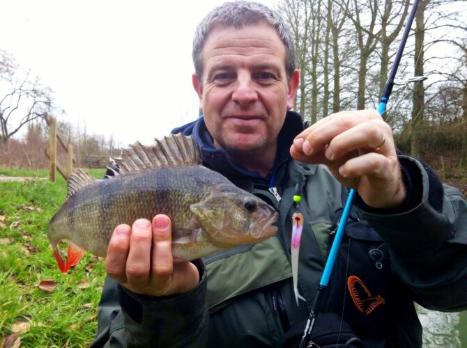 Andy Ford Perch Fishing