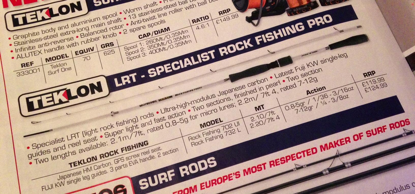 Grauvell Teklon Rock Fishing 702UL