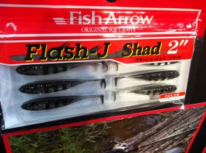 Fish Arrow Flash J Lures