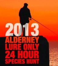 2013 Alderney Lure Only Species Hunt
