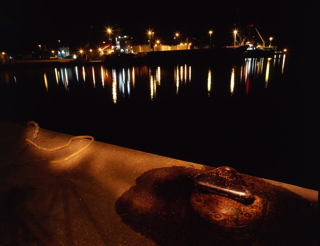 Poole Quay by Night