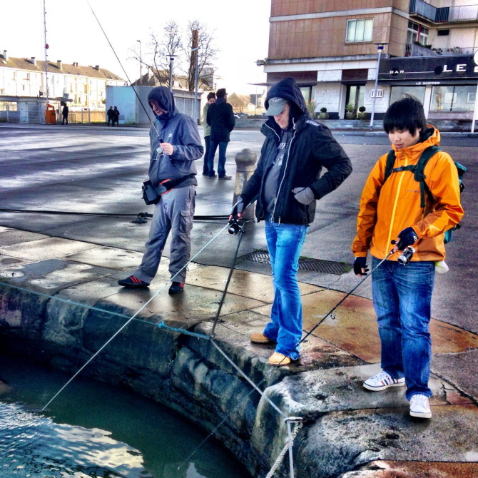 Saint Nazaire Street Fishing