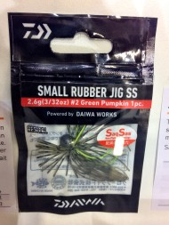 Daiwa Small Rubber Jig SS