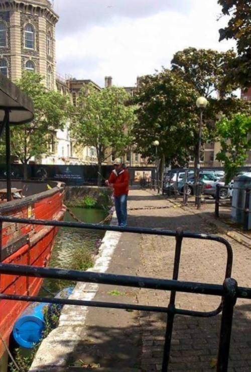 The Big Red Boat in Bristol Docks