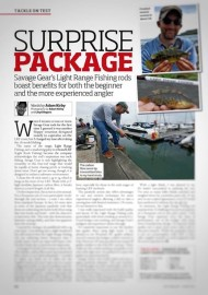 Savage Gear Rod Review in Sea Angler Magazine