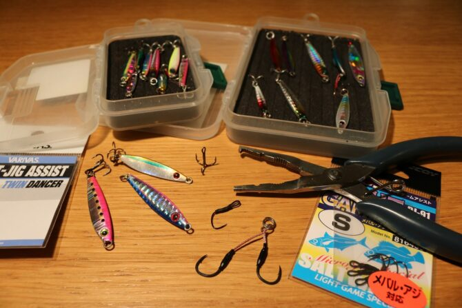 Replacing Hooks on Metal Jigs