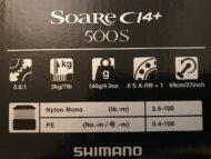 Shimano Soare CI4 500S Box